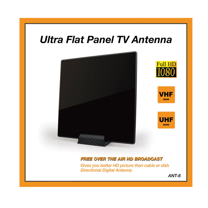 QueenFX-8 Ultra Flat Indoor Antenna (Sold In-Store only) - Isingtec