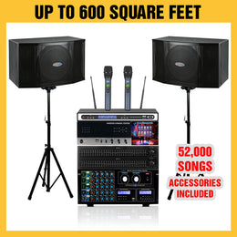 D400 Karaoke Package 1600 Watts - Isingtec