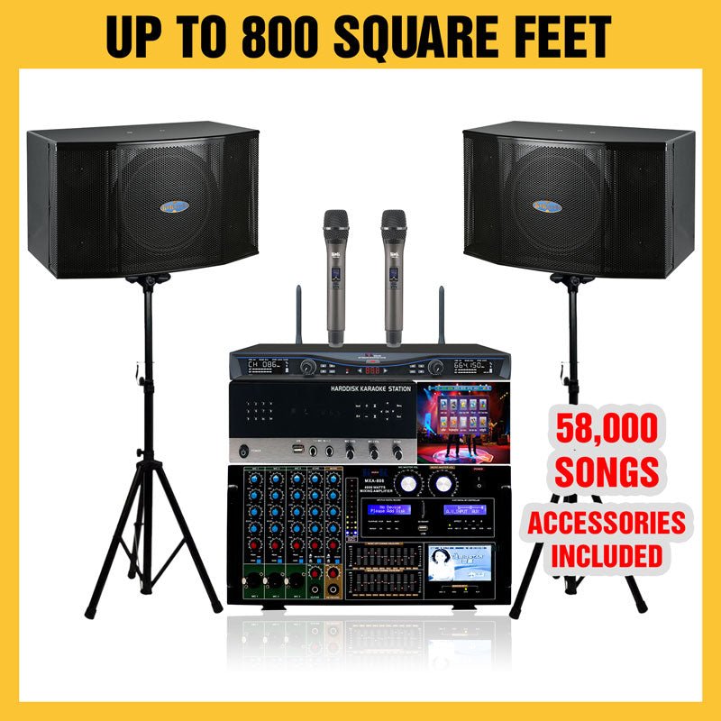 D500 Karaoke Package 4000 Watts - Isingtec
