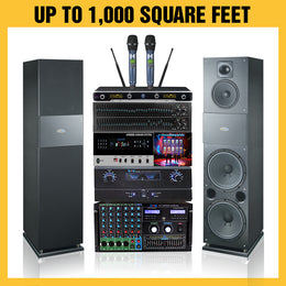 G701 Karaoke Package 4000 Watts - Isingtec