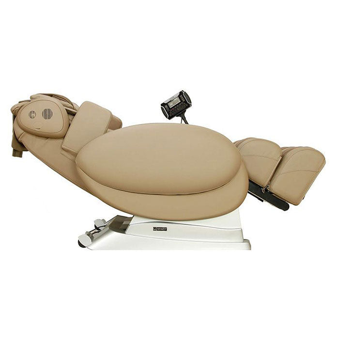 taupe Infinity IT-8800 massage chair zero gravity
