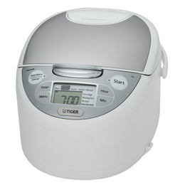 Tiger JAX-S Series Micom Rice Cooker With Tacook Cooking Plate