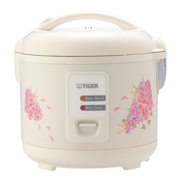 Tiger JAZ-A Series Conventional Rice Cooker With Floral Design