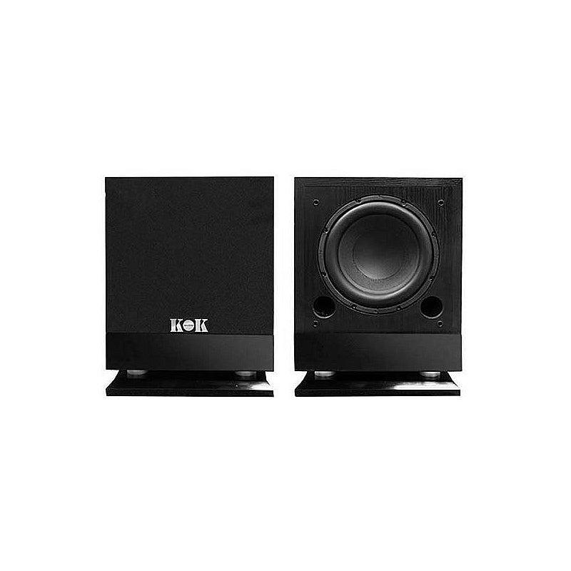"KOK Audio ES-10S 1200 Watt Powered Subwoofer 10"" Woofer Unit - Isingtec"