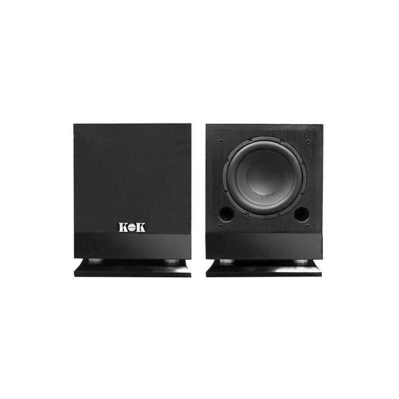 "KOKaudio ES-12S 1600Watt Pro DJ Powered Subwoofer 12"" Woofer Unit - Isingtec"