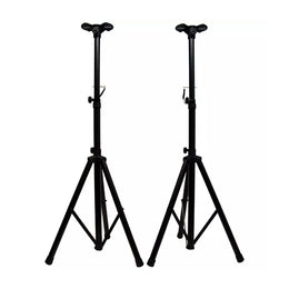 KOKaudio PT-120D (Pair) Tripod Speaker stand with Mound Holder - Isingtec