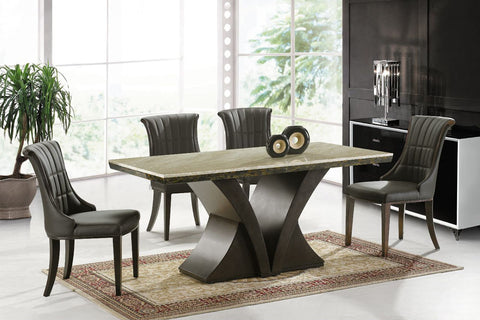 "KOKusa T-1306 36x63"" Marble Dining Table"