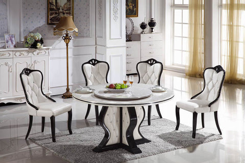 "KOKusa T-6319 44"" Marble Dining Table"