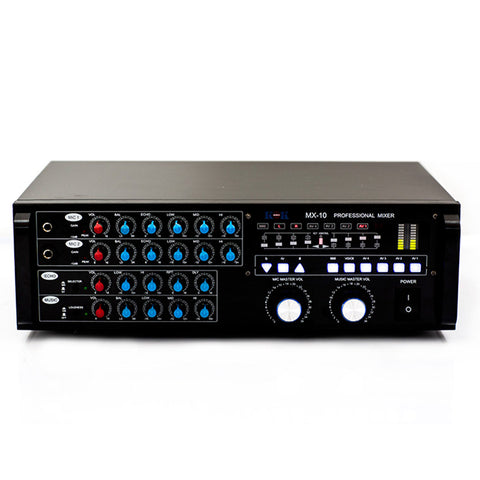 KOKaudio MXA-808 4000 Watt Mixing Amplifier, HDMI In/Output, Bluetooth, USB, SD Card Model 2019