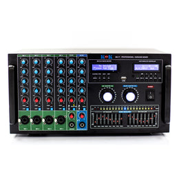 KOK Audio MX-71 Mixer, HDMI In/Output, Bluetooth, USB, SD Card Model 2019 - Isingtec