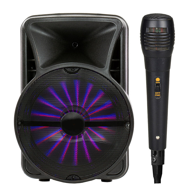 Queenfx 12SM  Smart App Controlled, Bluetooth, Rechargeable Speaker 12x1 woofer (Sold In-Store Only) - Isingtec