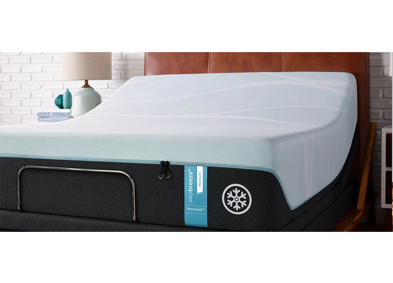 "Tempur-Pedic TEMPUR-breeze° 3° Cooler - 12"" Medium (PRObreeze) Mattress - Isingtec"