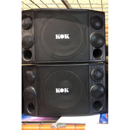 "BKB AUDIO PZ-630 1400 WATT 12"" WOOFER KARAOKE SPEAKERS (Open Box Pair) - Isingtec"