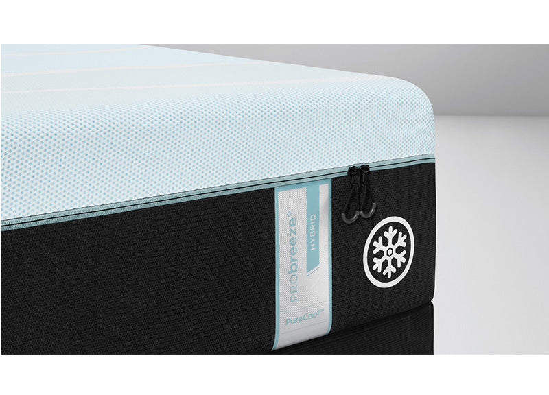 "Tempur-Pedic TEMPUR-breeze° 3° Cooler - 12"" Medium Hybrid (PRObreeze) Mattress - Isingtec"