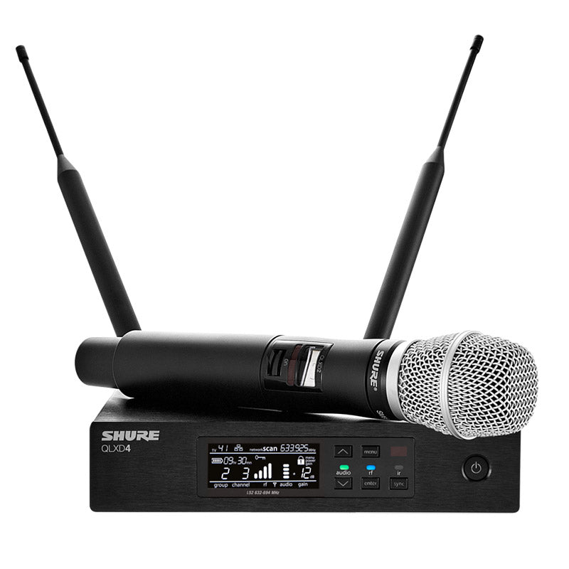 Shure QLX-D Digital Wireless System with Beta 87A Condenser Microphone  Band G50 - Isingtec