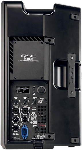 "QSC K10.2 Powered 10"" 2-way Active Loudspeaker System with Advanced DSP - Isingtec"
