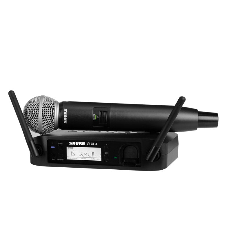 Shure GLX-D Wireless Vocal System with Beta 87A Mic Z2 Karaoke Microphone - Isingtec