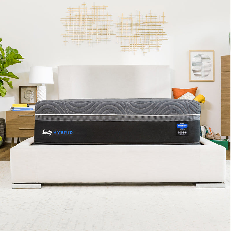 Sealy Posturepedic Hybrid Premium Z11 Silver Chill Plush Mattress - Isingtec