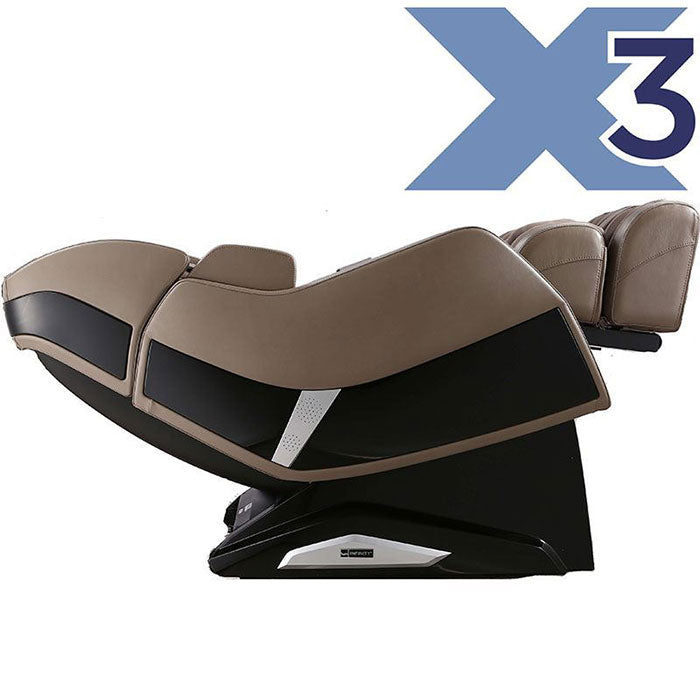 Infinity Riage X3 massage chair side view