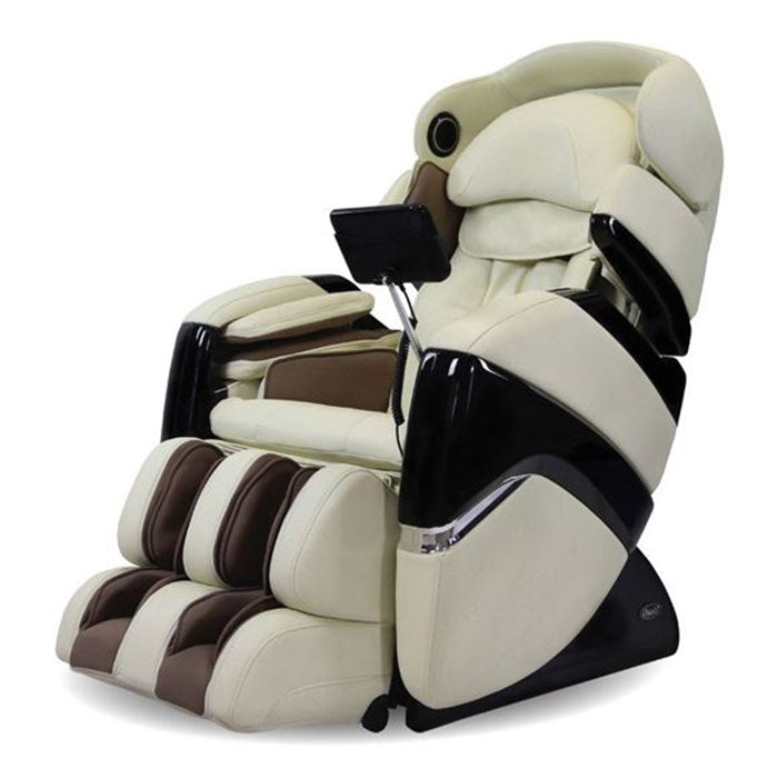 cream color massage chair