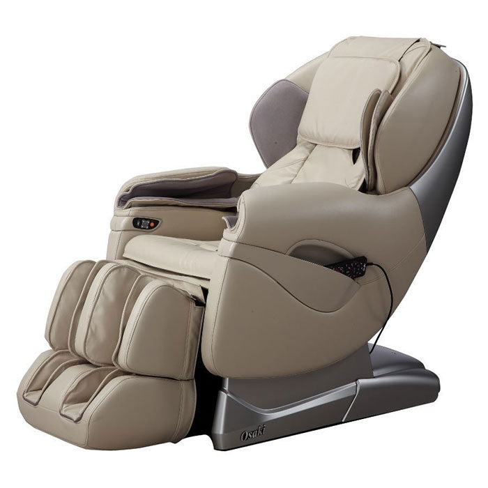ivory leather massage chair