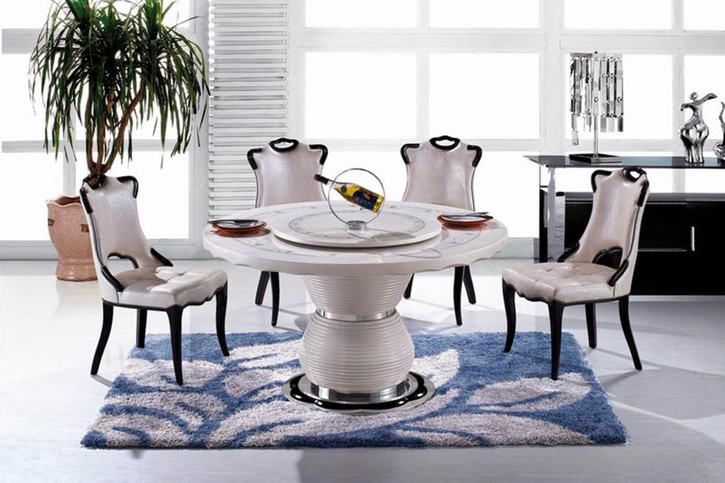 "KOKusa T-6306 44"" Marble Dining Table"