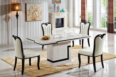"KOKusa T-6303 54"" Marble Dining Table"