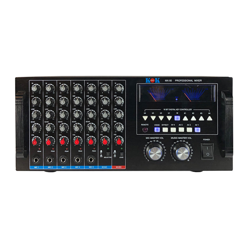 KOK Audio MX-50 Karaoke Mixer - Isingtec