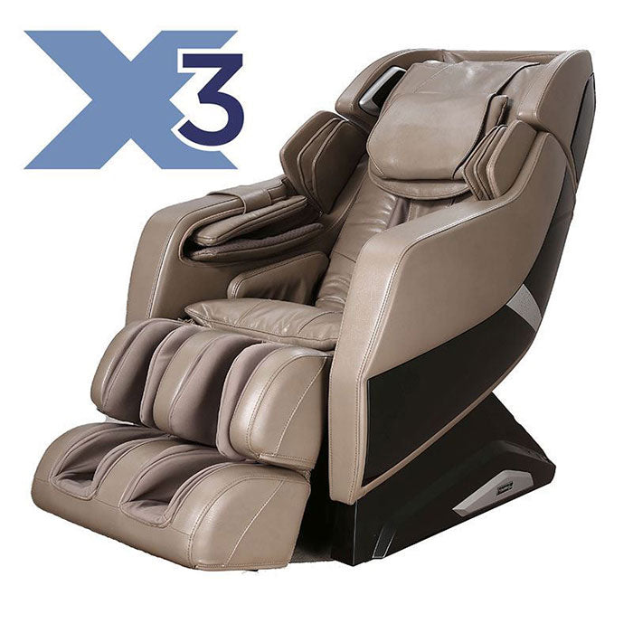 taupe Infinity Riage X3 massage chair