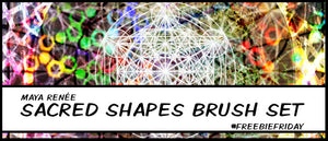 Freebie Friday - Sacred Geometry Photoshop Brushes