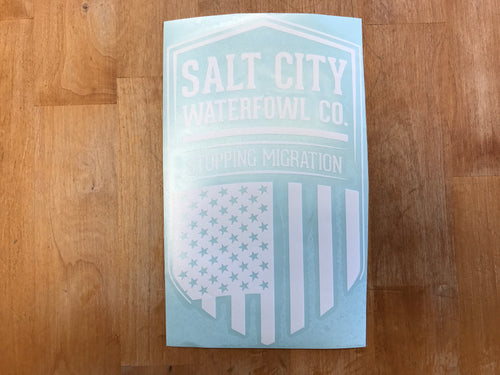 Salt City Patriot sticker 6
