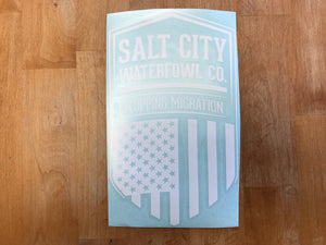 "Salt City Patriot sticker 6""x10"" Truck Sticker"