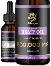 Billion Pets with Vitamin E - Hemp Oil for Dogs and Cats