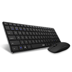 Multi-mode Ultra slim Wireless Keyboard & mouse 2.4G wireless Bluetooth