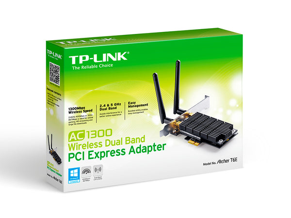 TP-Link Archer T6E PCI Express Wireless Dual Band: AC1300