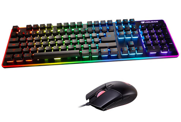 Gaming Keyboard & Mouse: DEATHFIRE EX RGB