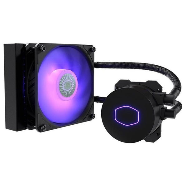 Cooler Master MasterLiquid-RGB Liquid CPU Cooler: 120mm Radiator
