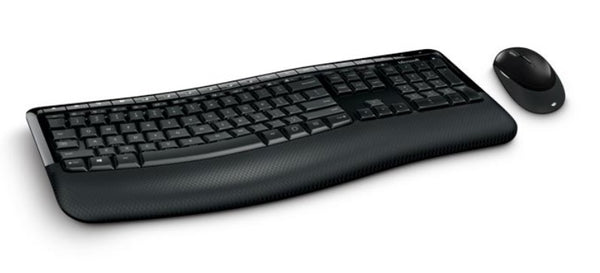 Microsoft COMFORT Desktop 5050 AES USB PORT - Wireless Keyboard and Mouse Combo