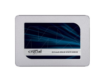 "Crucial SSD 2.5"": 500GB Solid State"