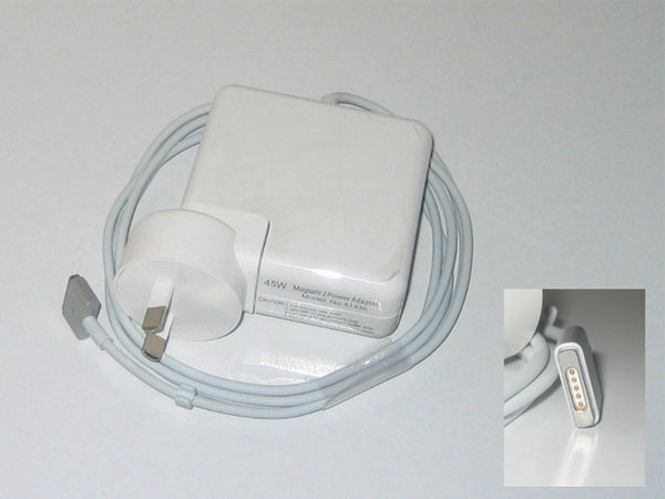 Power Adapter For Apple Macbook Air 45W MagSafe2, 14.85V 3.05A