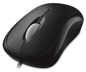 Microsoft Mouse: Optical USB Windows / Mac Black (RETAIL)