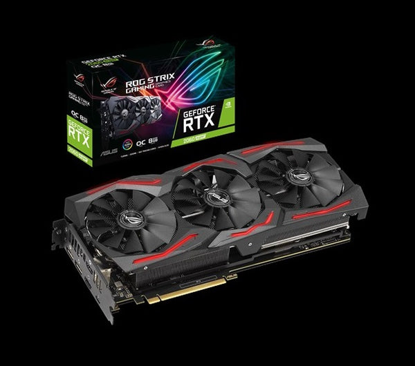 Asus ROG-STRIX-RTX2060S-O8G-GAMING nVidia GeForce RTX2060 SUPER STRIX OC