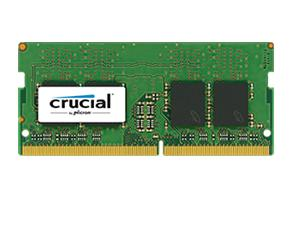 Crucial SINGLE SO-Dimm: 4GB Memory