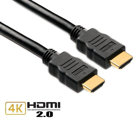 Simplecom HDMI-MM-2M-4K HDMI v2.0 Cable: 2M M-M High Speed cable Support 4K*2K 2160p at 60Hz