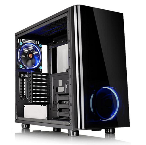 Thermaltake Mid Tower Chassis: View 31 TG Tempered Glass
