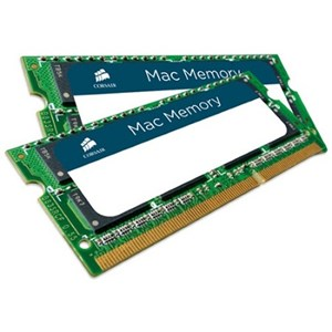 Corsair DUAL CHANNEL SO-Dimm: 8GB (2x4G) DDR3 Apple Mac