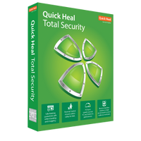 Quick Heal Total Security Software Windows - 1 PC and 1 year License
