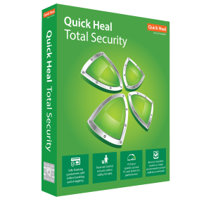 Quick Heal Total Security Software for Windows - 1 PC 3 years License