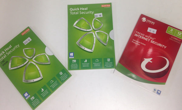 Trend Micro Internet Security Software 3 PC 1 Year, New version no CD, OEM