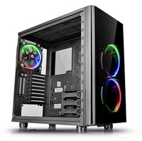Thermaltake Mid Tower Chassis: View 31 TG RGB Tempered